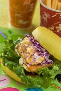Teriyaki Chicken Sandwich Set Tokyo DisneySea Easter Menu 2019