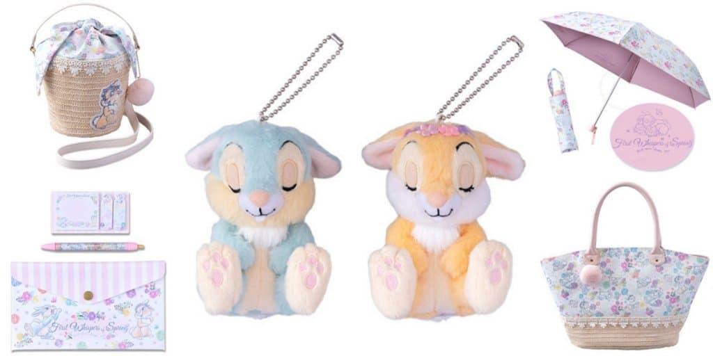 Tokyo Disney Resort Thumper and Miss Bunny Merchandise 2019