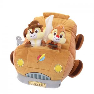 Tissue Box Cover Chip and Dale Disney Store Japan 2019