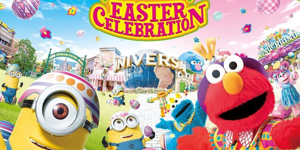 Universal Studios Japan Easter Celebration 2019