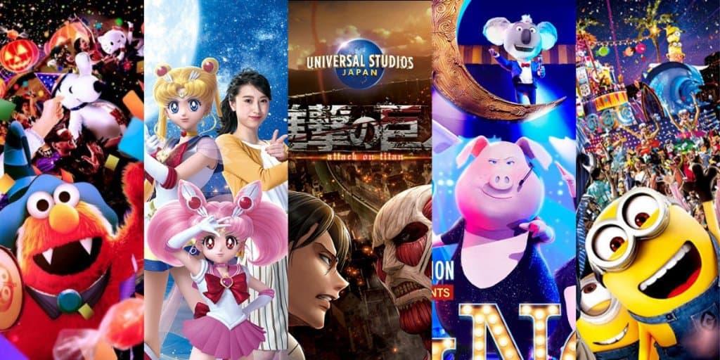 Universal Studios Japan Events Calendar 2019