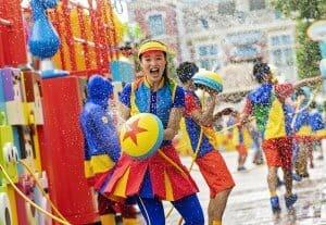 Water Street Party Toy Story & Pixar Pals Summer Splash