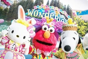 Wonderland Greeting Universal Studios Japan Easter 2019