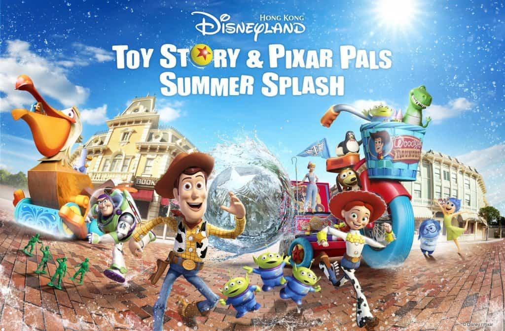 Toy Story & Pixar Pals Summer Splash at Hong Kong Disneyland – Summer 2019