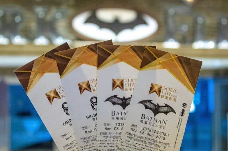 Batman Dark Flight at Studio Macau