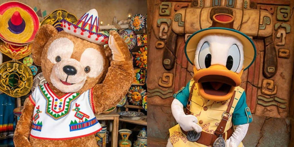 New Duffy and Donald Greetings Coming to Tokyo DisneySea