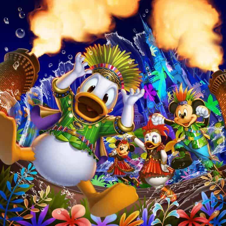 Donald's Hot Jungle Summer at Tokyo Disneyland – Summer 2019