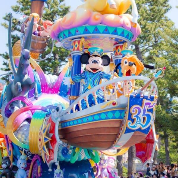 Dreaming Up Parade at Tokyo Disneyland