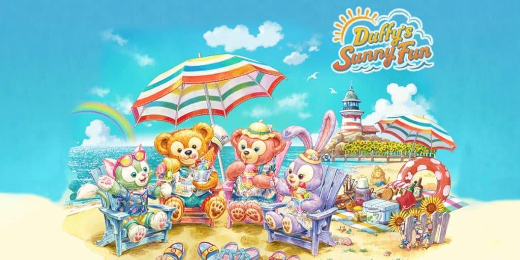 """Duffy's Sunny Fun"" Event at Tokyo DisneySea"