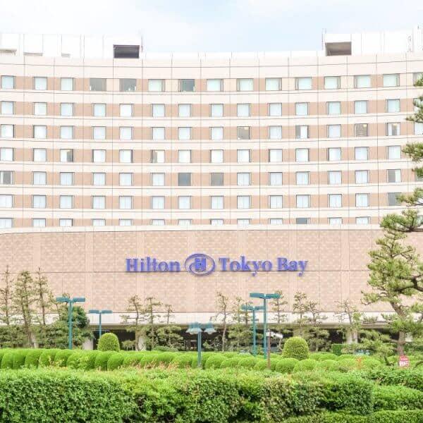 Hilton Tokyo Bay Building Outside