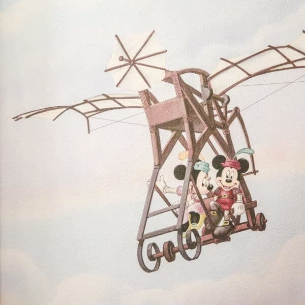 Hotel MiraCosta Mickey & Minnie Mural