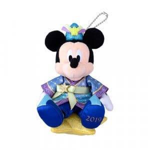 Mickey Tanabata Plush Badge