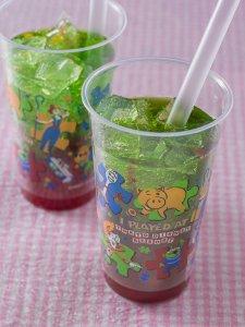 Strawberry Jelly Melon Soda