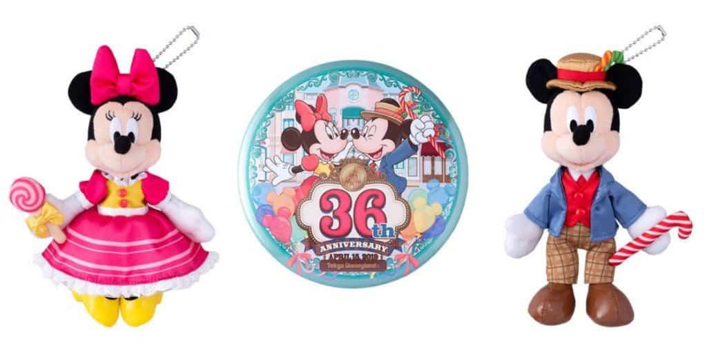 Tokyo Disney Resort 36th Anniversary Merchandise