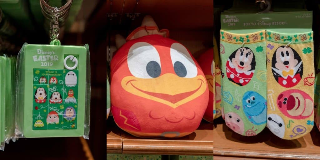 Tokyo Disney Resort Easter Egg and Bunny Merchandise – Available at Both Parks