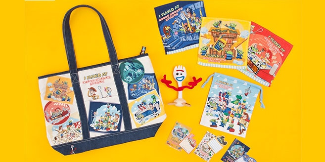 Funtime with Toy Story 4 Merchandise at Tokyo Disney Resort