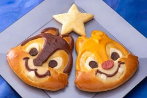 Chip and Dale Special Bread Tanabata Menu Disney Ambassador Hotel