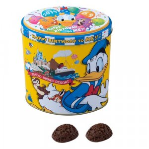 Chocolate Crunch Donald's Birthday Merchandise