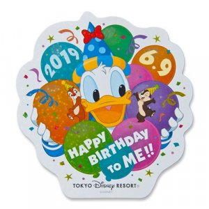 Donald's Birthday Merchandise