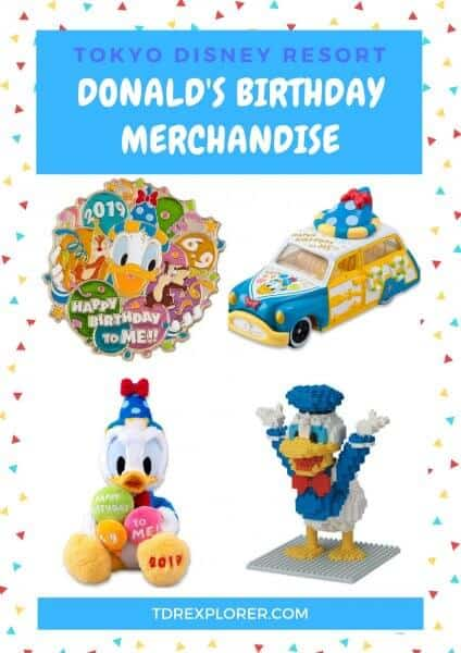 Celebrate Donald's birthday with special merchandise from Tokyo Disney Resort