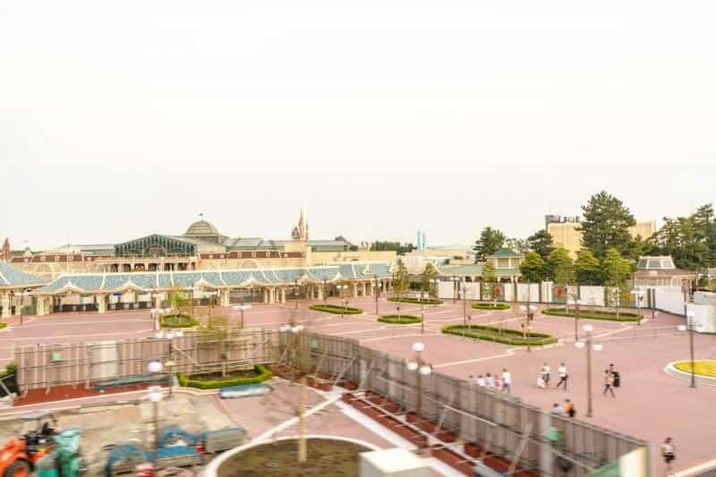 Tokyo Disneyland New Entrance