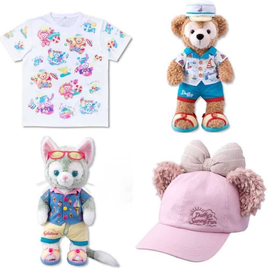 Duffy's Sunny Fun Merchandise at Tokyo DisneySea