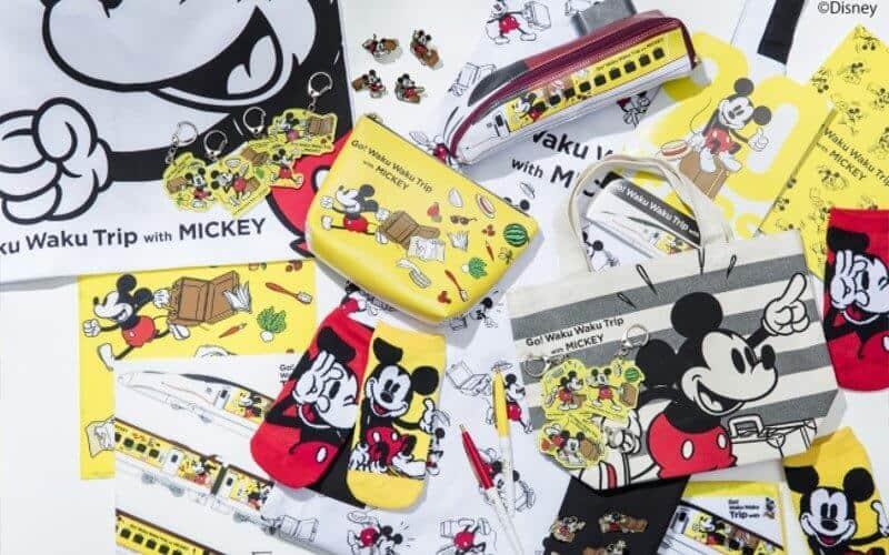 Mickey Shinkansen Merchandise
