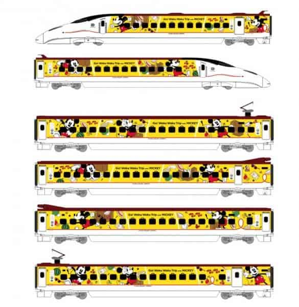 Mickey Train Designs