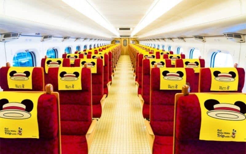 Mickey Train Seats