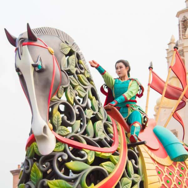 Mulan at Shanghai Disneyland