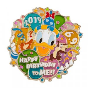 Pin Donald's Birthday Merchandise