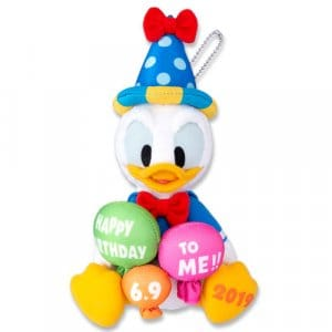 Plush Badge Donald's Birthday Merchandise