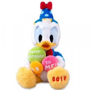 Plush Donald's Birthday Merchandise