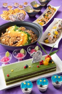 Sherwood Garden Restaurant Buffet Tanabata Menu Tokyo Disneyland Hotel
