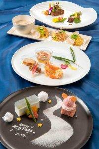 Silk Road Garden Dinner Tanabata Menu Tokoy DisneySea Hotel MiraCosta