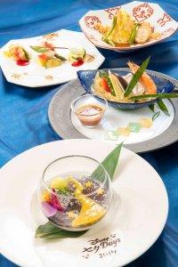 Silk Road Garden Lunch Tanabata Menu Tokoy DisneySea Hotel MiraCosta