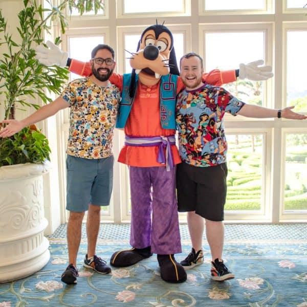 Tai Chi Master Goofy at the Hong Kong Disneyland Hotel
