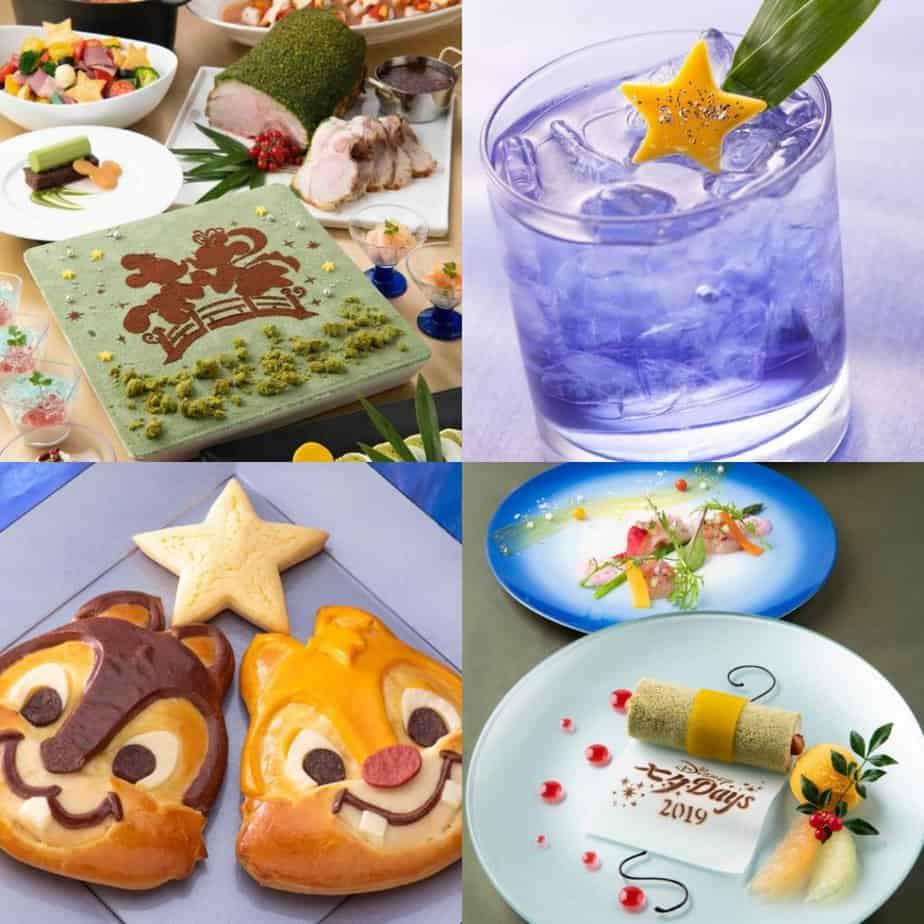 Tokyo Disney Resort Hotels Tanabata Days Menu 2019