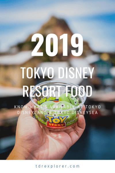 An updated list of food & snacks at Tokyo Disneyland and Tokyo DisneySea