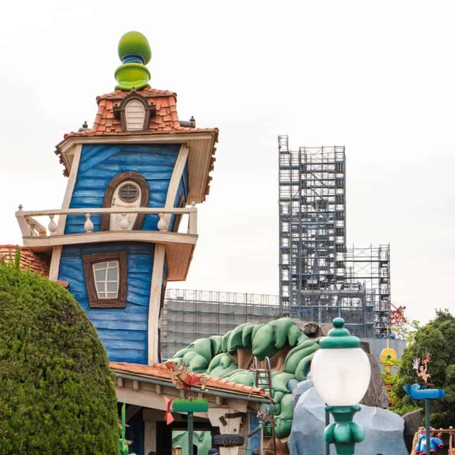 Tokyo Disneyland Construction Update (May 2019)