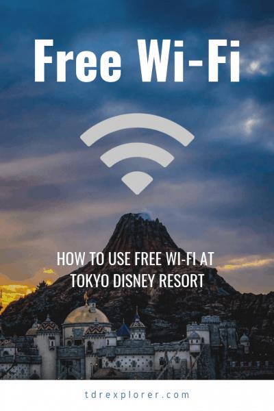 Tokyo Disneyland & Tokyo DisneySea Free Wi-Fi