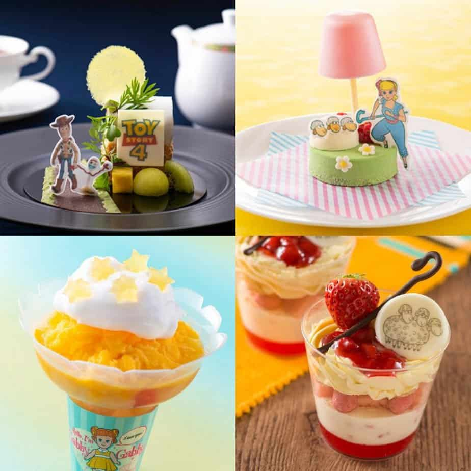 Funtime with Toy Story 4 Food & Snacks Menu at Tokyo Disney Resort