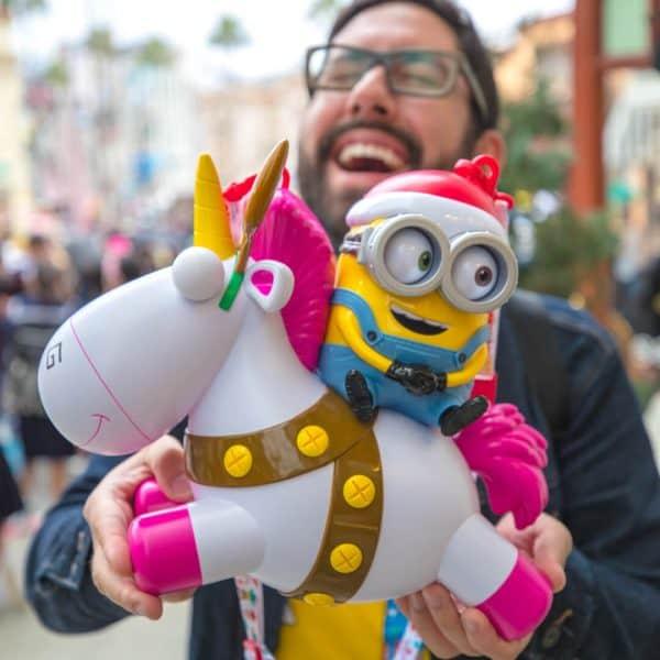 Universal Studios Japan Minion Popcorn Bucket