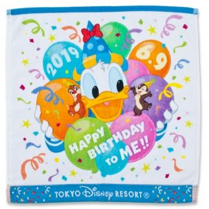 Wash Towel Donald's Birthday Merchandise