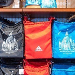 Adidas Drawstring Bags Back Tokyo Disney Resort
