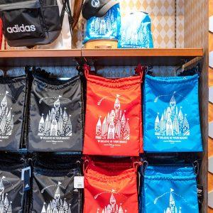 Adidas Drawstring Bags Tokyo Disney Resort