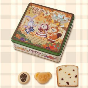 Assorted Sweets and Cookies Duffy and Friends Autumn Merchandise 2019