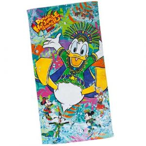 Bath Towel Donald's Hot Jungle Summer