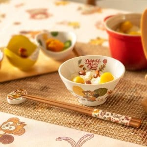 Bowl and Chopsticks Set Duffy Merchandise Tokyo Disney Resort 2019
