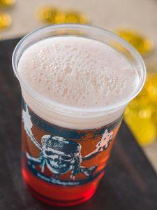 Crème de Cassis Beer Cocktail Tokyo DisneySea Pirates Summer Menu